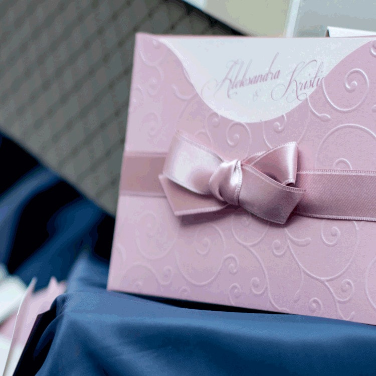 wedding invitations in Italian style